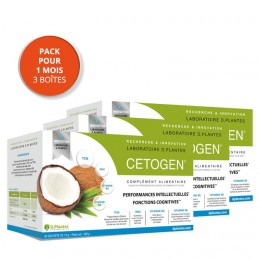 Pack de 3 boites de Cetogen