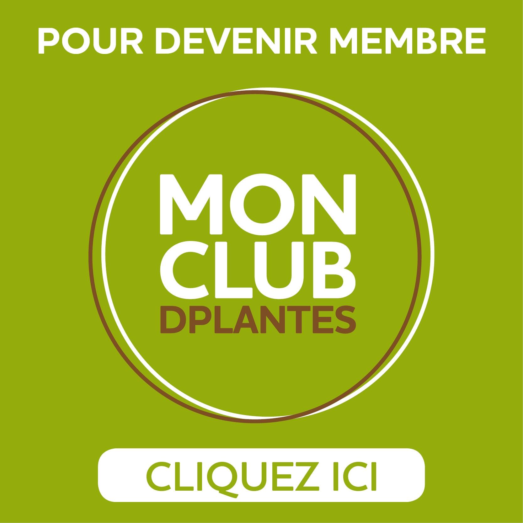 Adhésion Club DPlantes