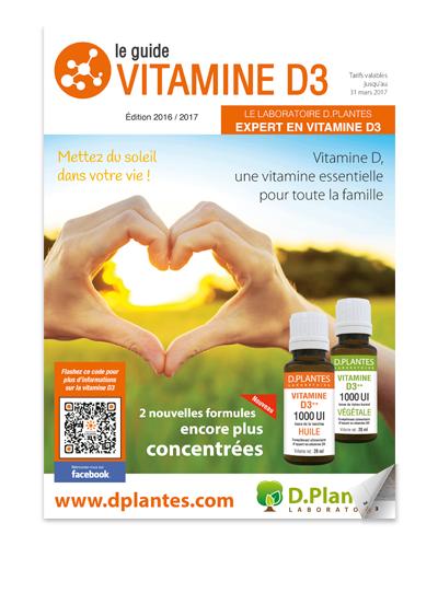 Découvrez le guide vitamine D3
