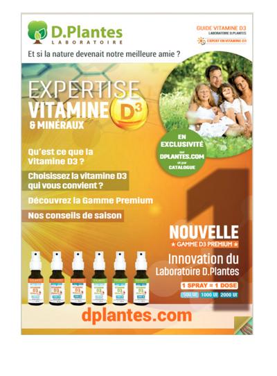 Découvrez le guide vitamine D3 2018