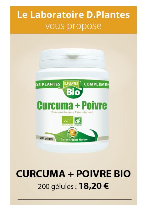 Curcuma + Poivre bio, complément alimentaire
