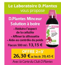 D.Plantes Minceur Solution à boire