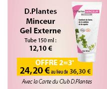 D.Plantes Minceur Gel externe