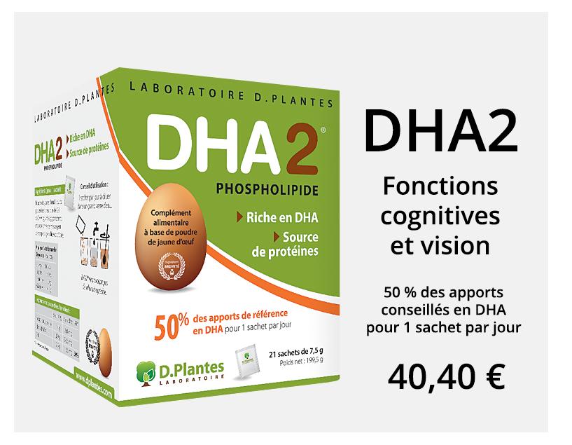 DHA2, fonctions cognitives et vision, Laboratoire D.Plantes