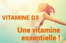 Vitamine D3 : les fonctions, Laboratoire D.Plantes