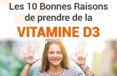 Vitamine D3 : 10 bonnes raisons, Laboratoire D.Plantes