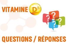 Questions réponses vitamine D3