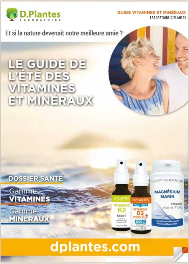 Découvrez le guide vitamines et minéraux