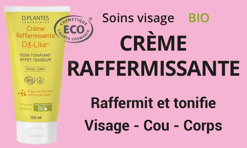 Crème Raffermissante Bio, Laboratoire D.Plantes