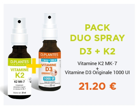 Pack Duo Spray D3 + K2